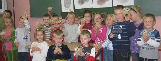 Rejowiec - święto pyry w przedszkolu